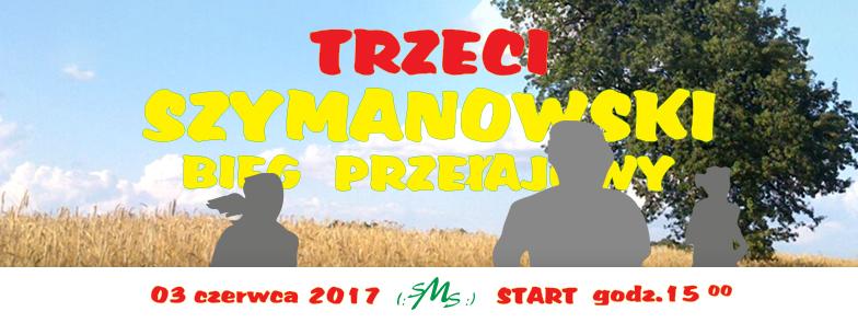 Ruszyły zapisy na Trzeci Szymanowski Bieg Przełajowy!!!